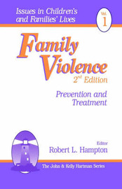 Family Violence by Robert L. Hampton image
