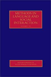 Methods in Language and Social Interaction image