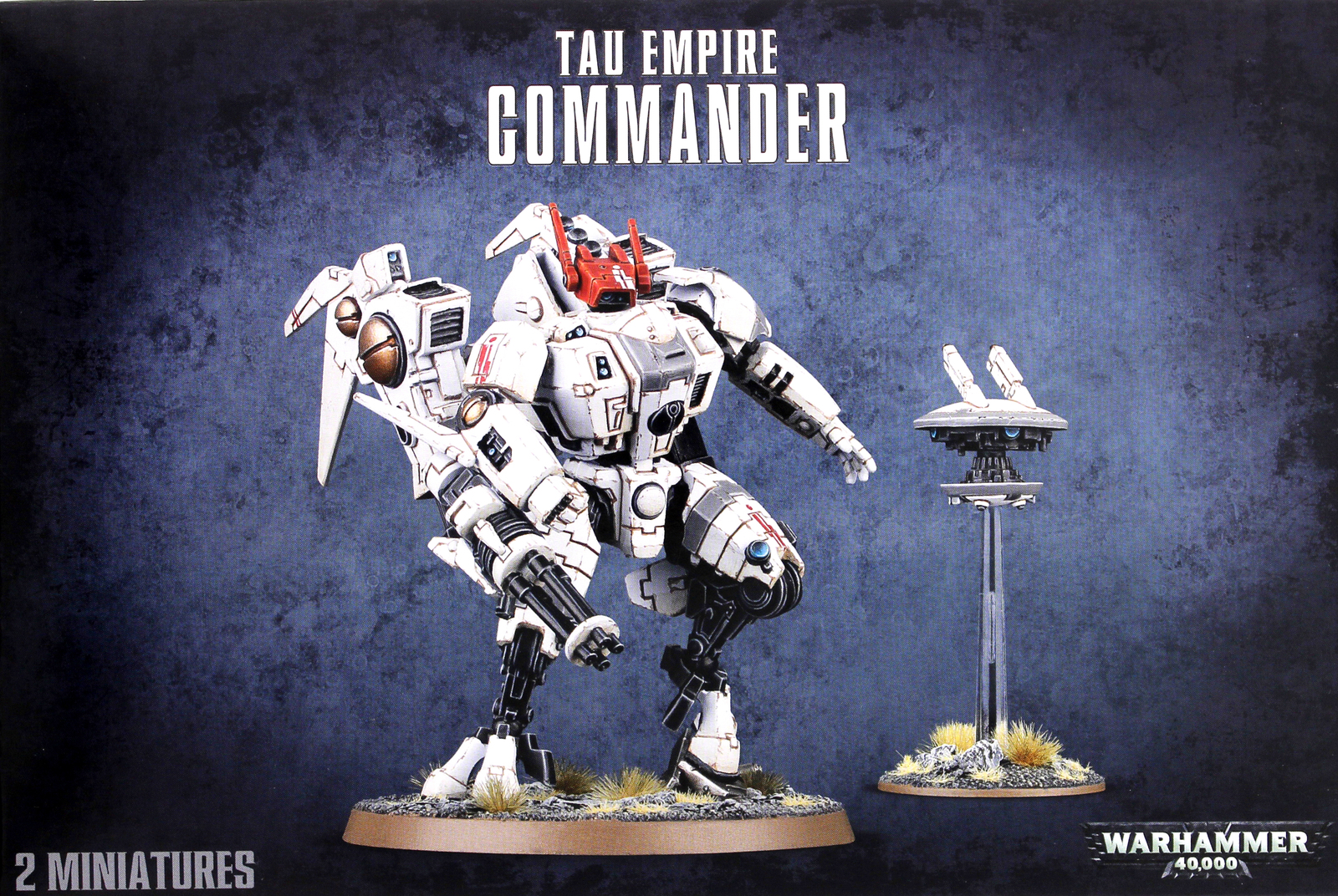 Warhammer 40,000 Tau Commander / XV86 Coldstar Battlesuit image