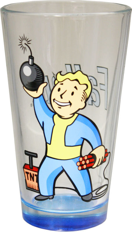 Fallout: Vault Boy Demolitions - Pint Glass