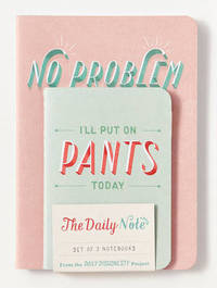 Daily Dishonesty: The Daily Note (Set of 3 Notebooks) by Lauren Hom