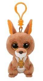 Ty Beanie Boos: Kipper Kangaroo - Clip On Plush
