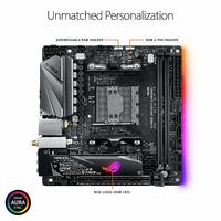 Asus Rog Strix X470-I Gaming AMD Ryzen2 AM4 HDMI M.2 Mini-Itx Motherboard