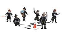 Woodland Scenics HO Scale Rescue Firefighters