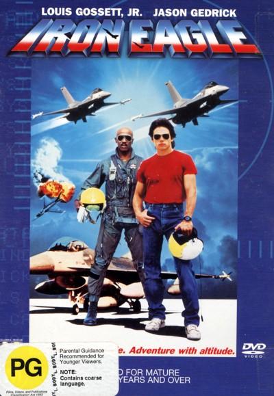 Iron Eagle on DVD image