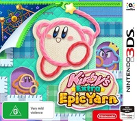 Kirby's Extra Epic Yarn for 3DS image