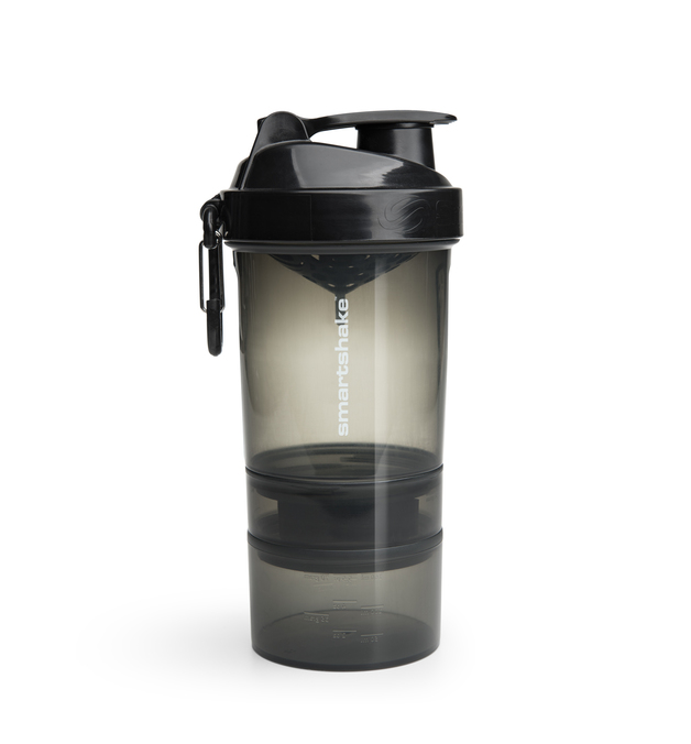 Smartshake Original 2Go Protein Shaker - Black (600ml)