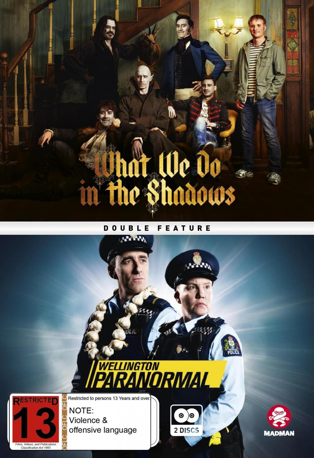 What We Do In The Shadows/Wellington Paranormal Double Pack on DVD image