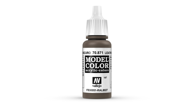 Vallejo Model Colour Leather Brown 17ml