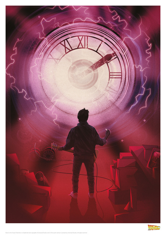 Back to the Future: Premium Art Print - Too Darn Loud
