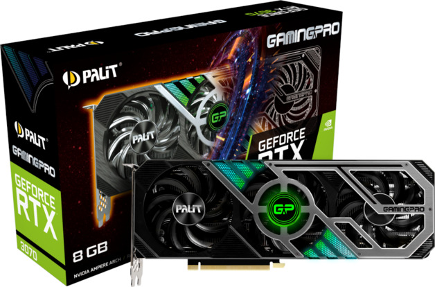 NVIDIA GeForce RTX 3070 GamingPro 8GB Palit GPU