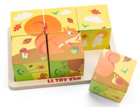 Le Toy Van: Petilou - All Seasons Cube Puzzle