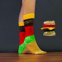 Fast Food Socks - Burger
