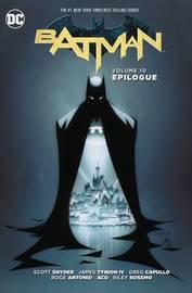 Batman Vol. 10 Epilogue by Scott Snyder
