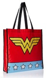 Wonder Woman: Logo Star Print - Shopping Bag