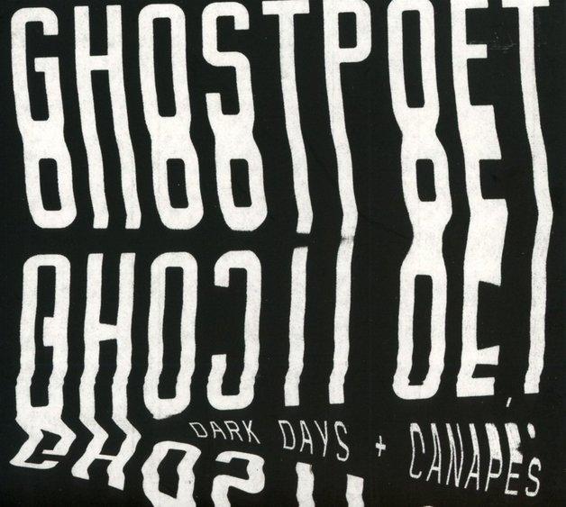 Dark Days + Canapés [Limited White Vinyl] (LP) by Ghostpoet