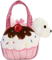 Aurora: Fancy Pal Pet Carrier - Fluffy Pink Cupcake