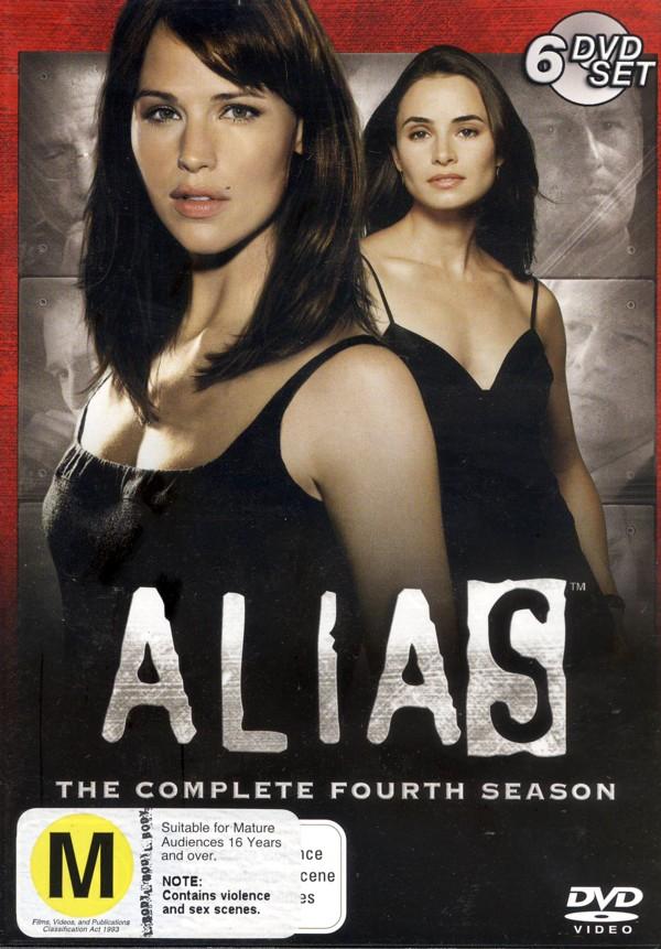 Alias - Complete Season 4 (6 Disc Slimline Set) on DVD image