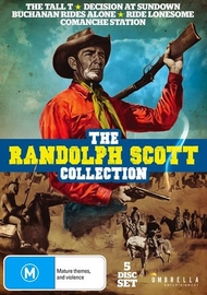 Randolph Scott Collection on DVD