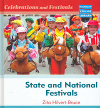 Celebrations and Festivals State and National Macmillan Library by Zita Hilvert-Bruce image