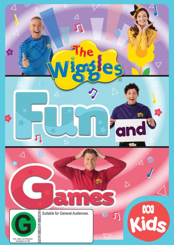 The Wiggles: Fun & Games on DVD