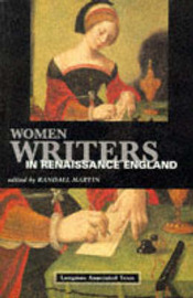 Women Writers in Renaissance England by Randall Martin image