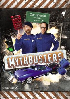 Mythbusters - Car Special: Volume 2 (2 Disc Set) on DVD