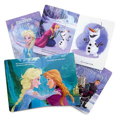 Frozen: The Ice Box (4 Board Books) by Courtney Carbone image