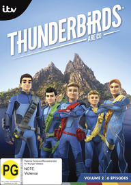 Thunderbirds are Go! - Volume 2 on DVD