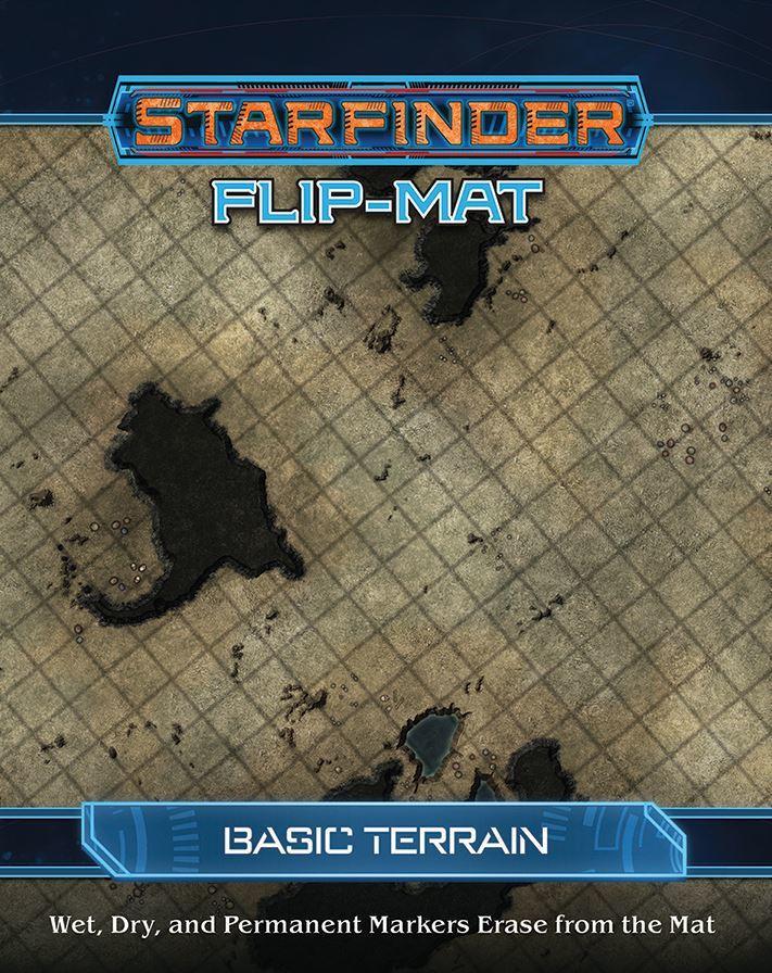 Starfinder RPG Flip Mat: Basic Terrain image