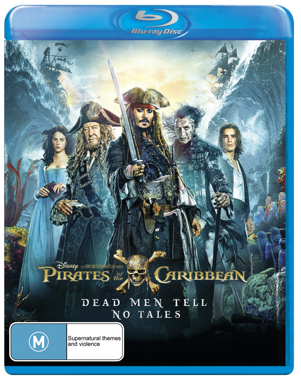 Pirates of the Caribbean: Dead Men Tell No Tales on Blu-ray image