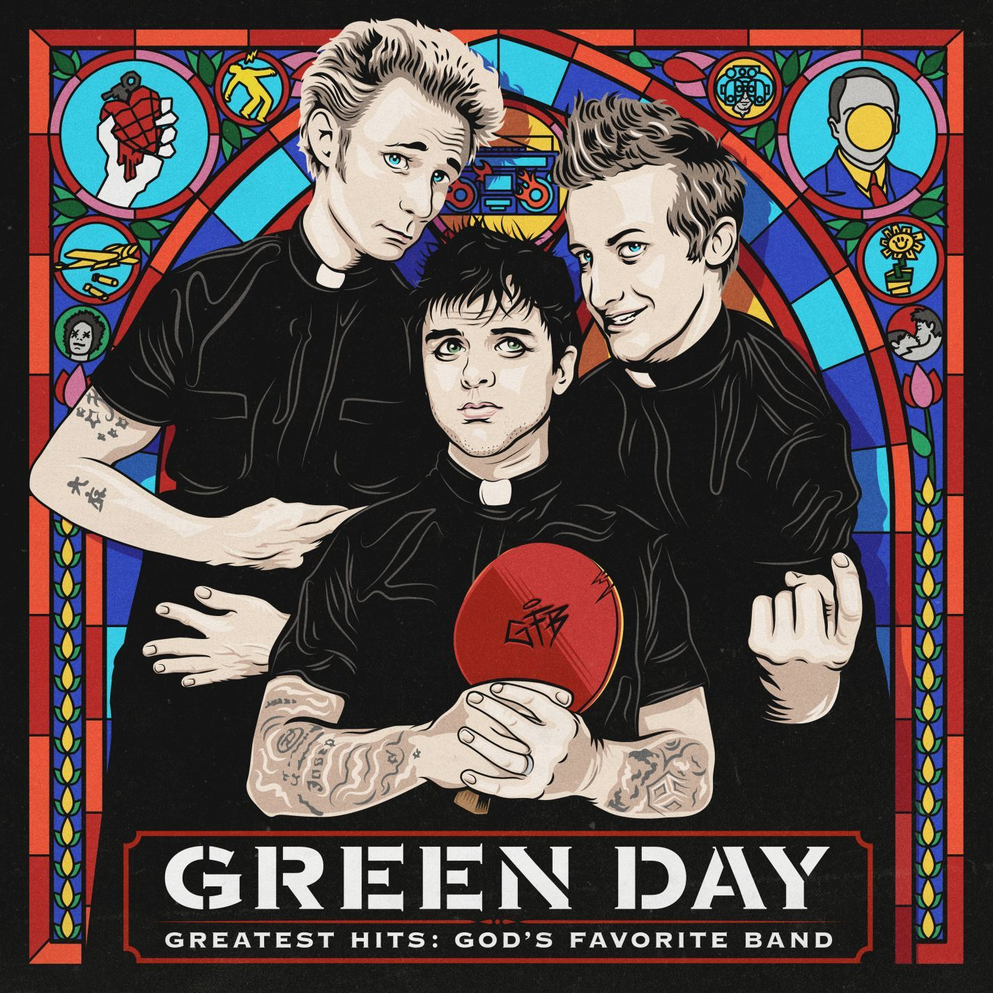 Greatest Hits: God's Favourite Band by Green Day image