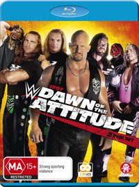 WWE: 1997: Dawn Of The Attitude on Blu-ray