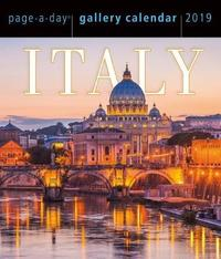 2019 Italy Page-A-Day Gallery Calendar by Workman Publishing