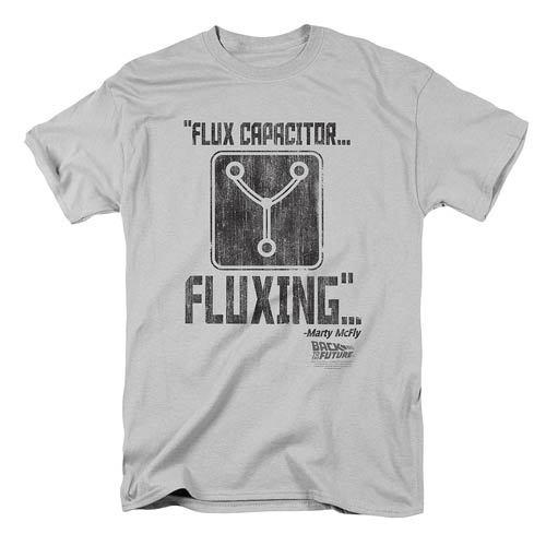 Back to the Future: Flux Capacitor Fluxing - Men's T-Shirt (Medium)