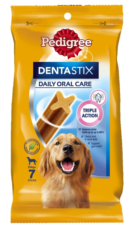 Pedigree Dentastix - Large/Giant Dog 7 Sticks (270g)