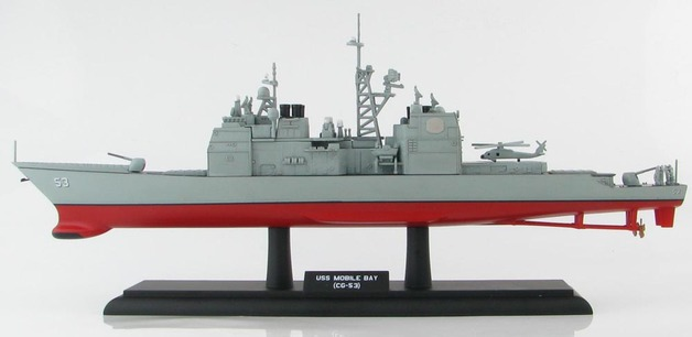 Hobby Master 1/700 USS Mobile Bay (CG-53) Ticonderoga Class guided missile cruiser Diecast Model