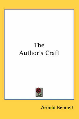 The Author's Craft by Arnold Bennett image