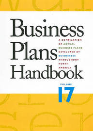 Business Plans Handbook, Volume 17 image