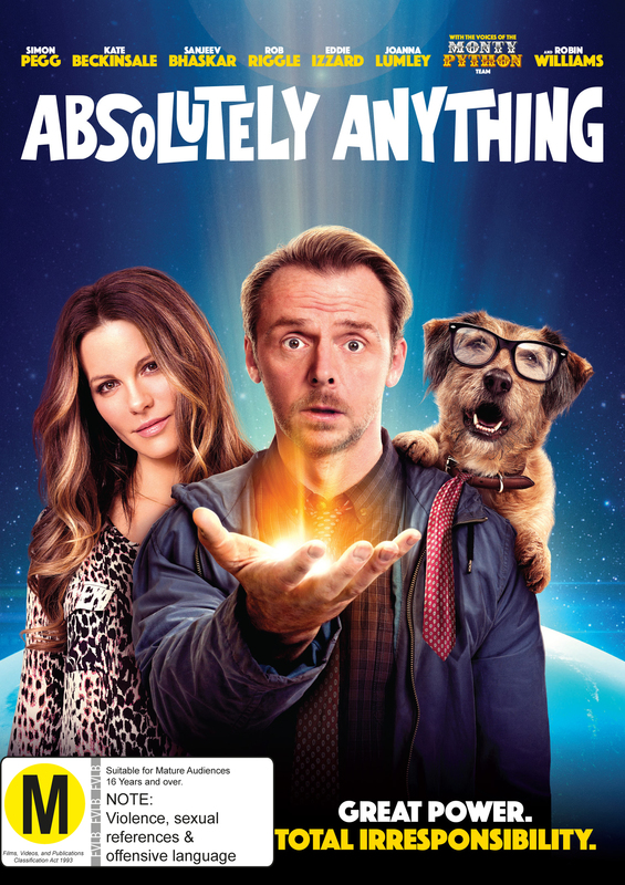 Absolutely Anything on DVD