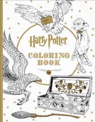 Harry Potter: The Official Coloring Book #1 by Scholastic image