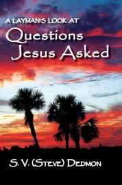Questions Jesus Asked by S V (Steve) Dedmon