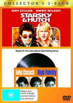Starsky And Hutch (2004) / High Fidelity - Collector's 2-Pack (2 Disc Set) on DVD