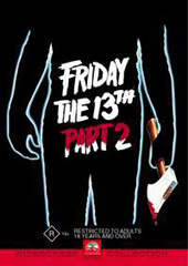 Friday The 13th Part 2 on DVD