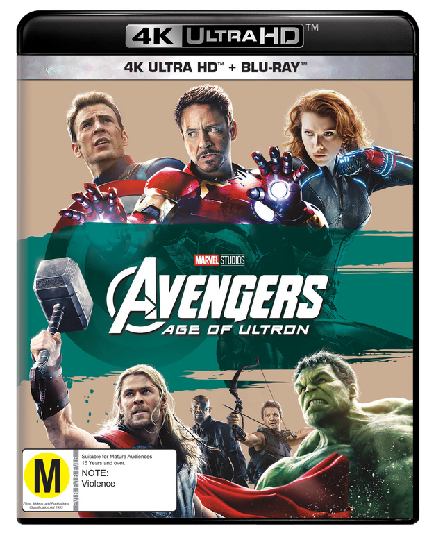 Avengers: Age of Ultron on UHD Blu-ray
