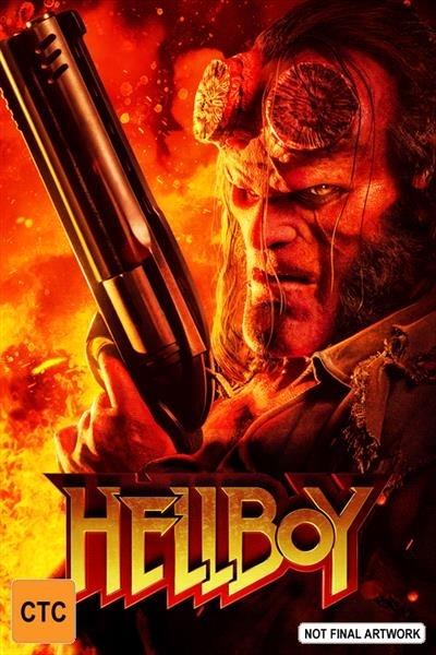Hellboy on Blu-ray