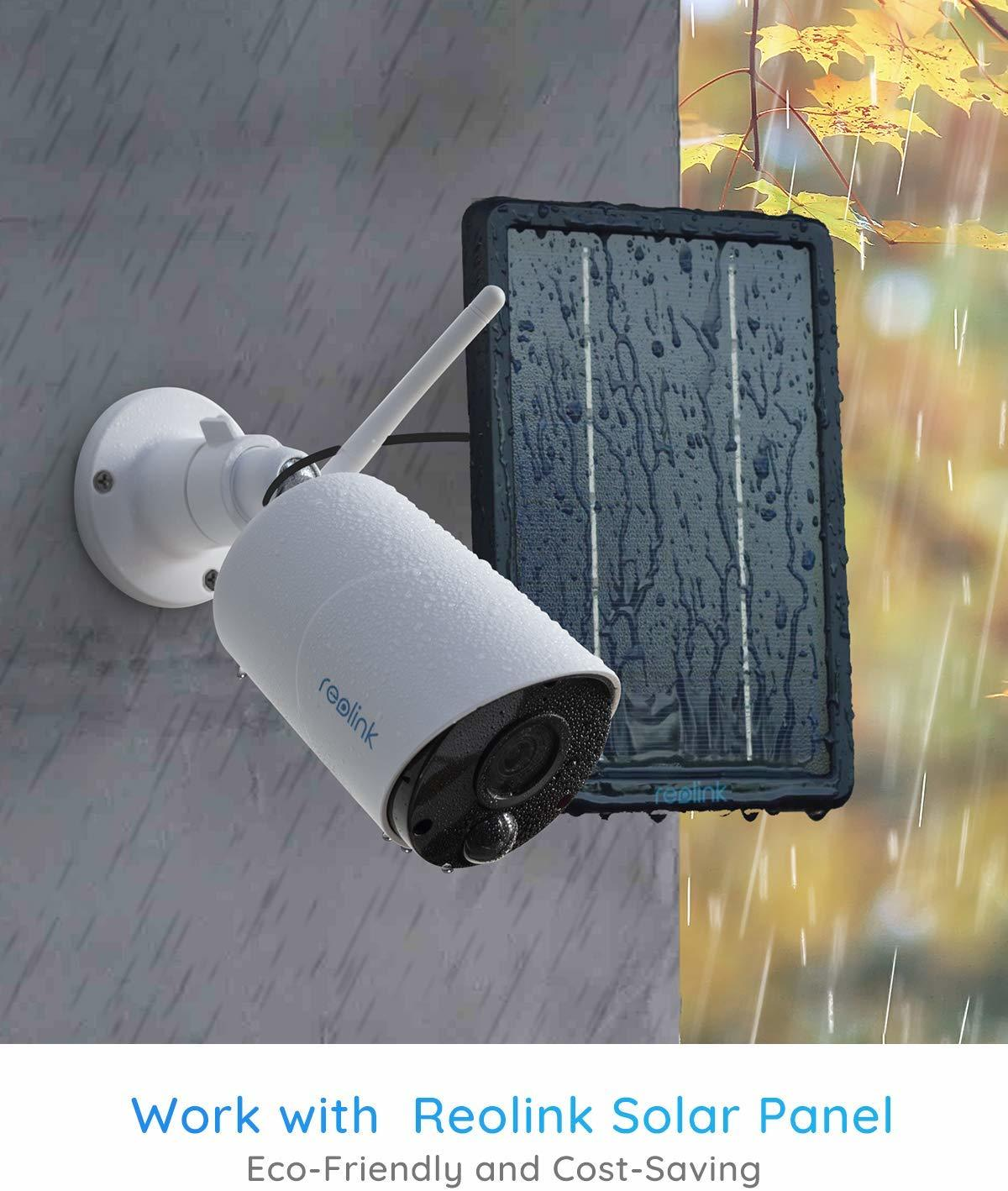 Reolink: Argus Eco Wire-Free Rechargeable Battery or Solar Powered Security Camera image