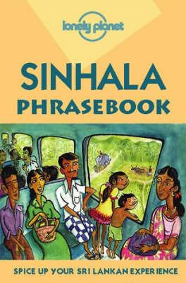 Sinhalese Phrasebook by Margit Meinhold image