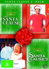 Santa Clause 2-Pack (Santa Clause / Santa Clause 2) (2 Disc Set) on DVD