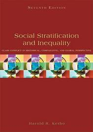 Social Stratification and Inequality by Harold R. Kerbo image